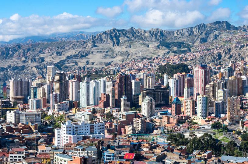 La Paz. Boliwia /123RF/PICSEL