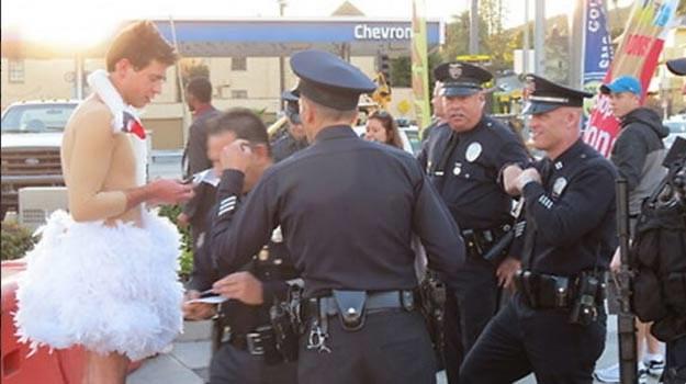 Łabędzi śpiew Vitaliego Sediuka? Ukraiński prowokator zatrzymany przez policję przed Oscarami. /materiały prasowe