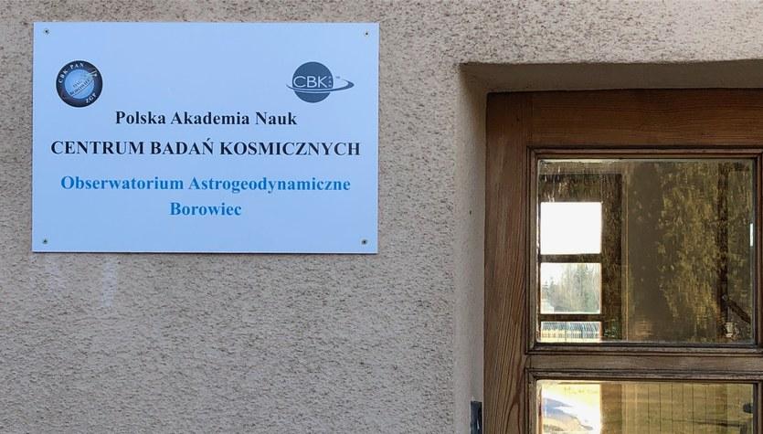 Laboratorium Czasu i Częstotliwości w Borówcu