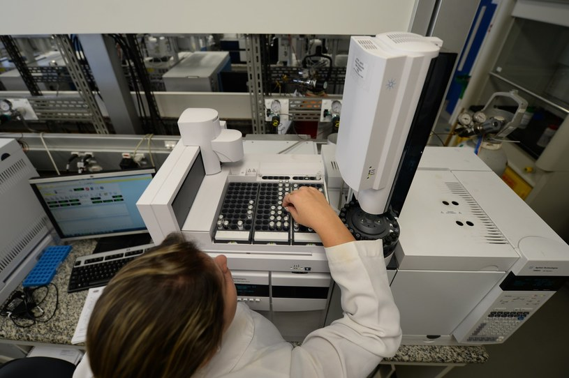 Laboratorium kontroli antydopingowej /AFP