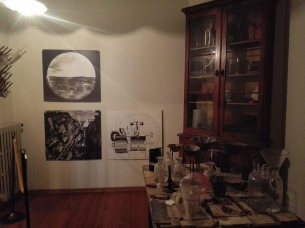 Laboratorium w Wilii Nobla w San Remo /Tomasz Staniszewski /RMF FM