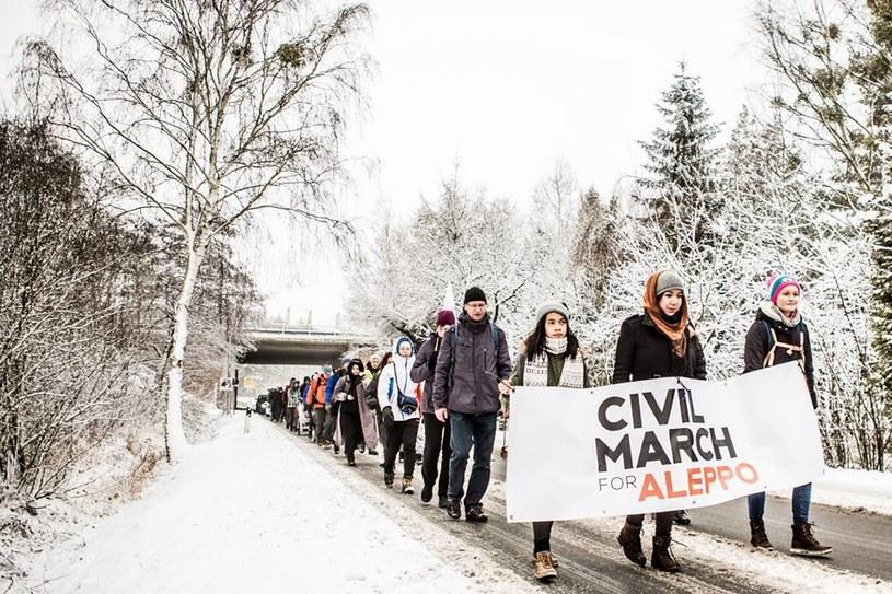 Łącznie w Marszu wzięło udział kilkaset osób /Maciej Soja /archiwum prywatne