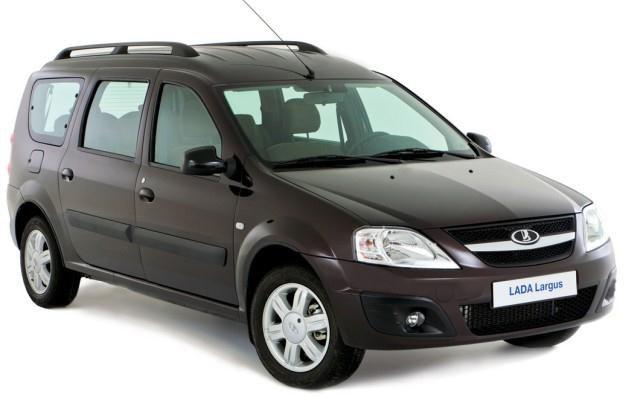 Łada Largus czyli Dacia Logan MCV /