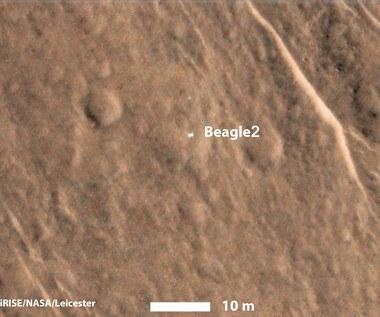 Lądownik Beagle 2 – było blisko?