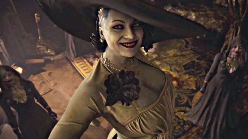 Lady Alcina Dimitrescu w grze Resident Evil Village /materiały prasowe