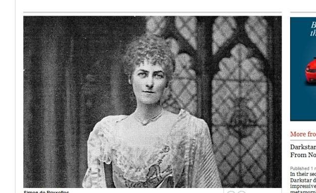 Lady Alice Douglas-Pennant. Fot. thetimes.co.uk /