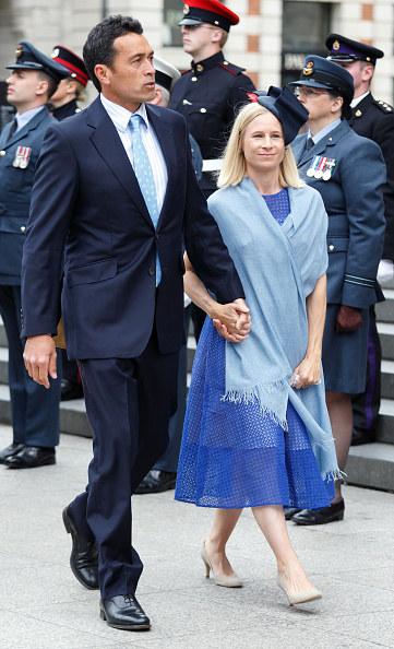 Lady Davina Windsor i Gary Lewis, 2016 rok /Max Mumby/Indigo /Getty Images