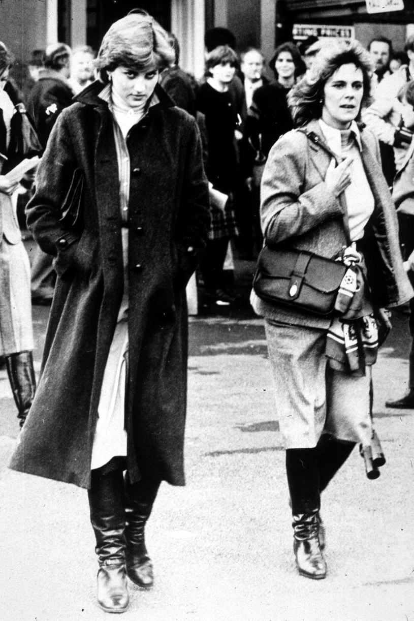 Lady Diana i Camilla Parker Bowles podczas spotkania w 1980 roku / Express Newspapers /Getty Images