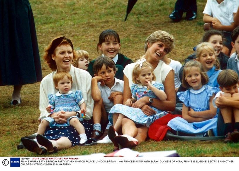 Lady Diana pomagała chorym dzieciom! /- /East News