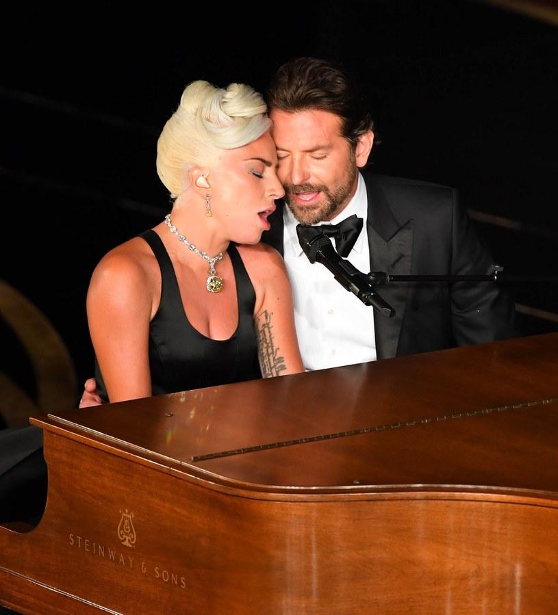 Lady Gaga i Bradley Cooper na Oscarach 2019 /USA TODAY Network/Sipa USA /East News