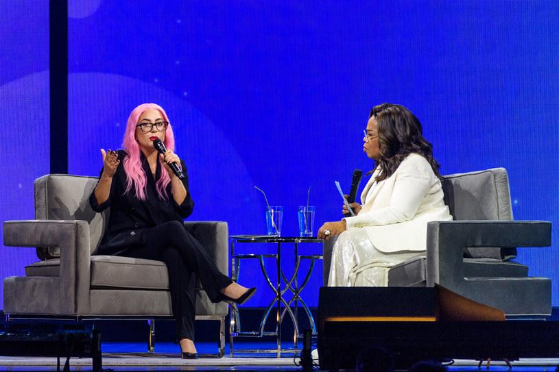 Lady Gaga i Oprah Winfrey /Jason Koerner /Getty Images
