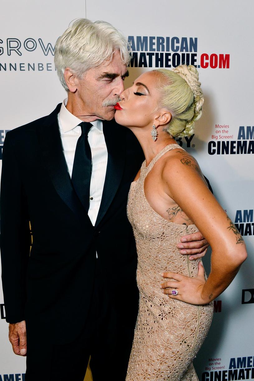 Lady Gaga i Sam Elliott /Getty Images