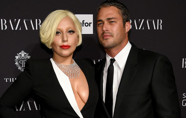 Lady Gaga i Taylor Kinney /Dimitrios Kambouris /Getty Images