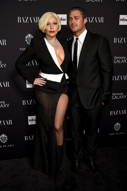 Lady Gaga i Taylor Kinney /Dimitrios Kambouris /Getty Images
