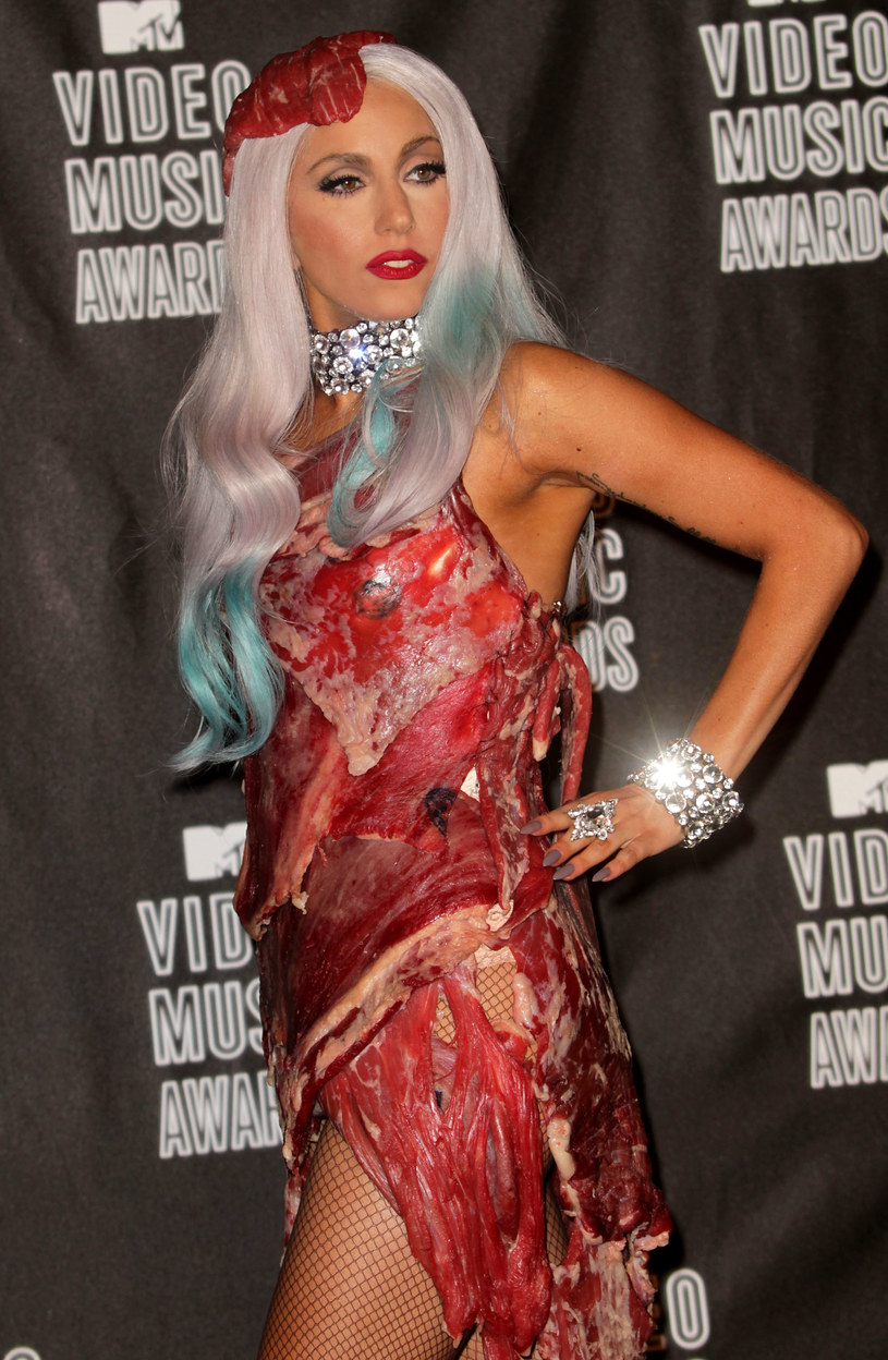 Lady Gaga w 2010 roku na MTV VMA /Frederick M. Brown /Getty Images