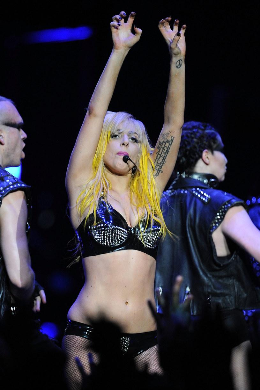 Lady Gaga w 2010 roku /Jason Merritt /Getty Images