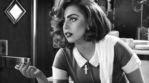 """Lady Gaga w filmie """"Sin City 2: Damulka warta grzechu"""". /materiały dystrybutora"""