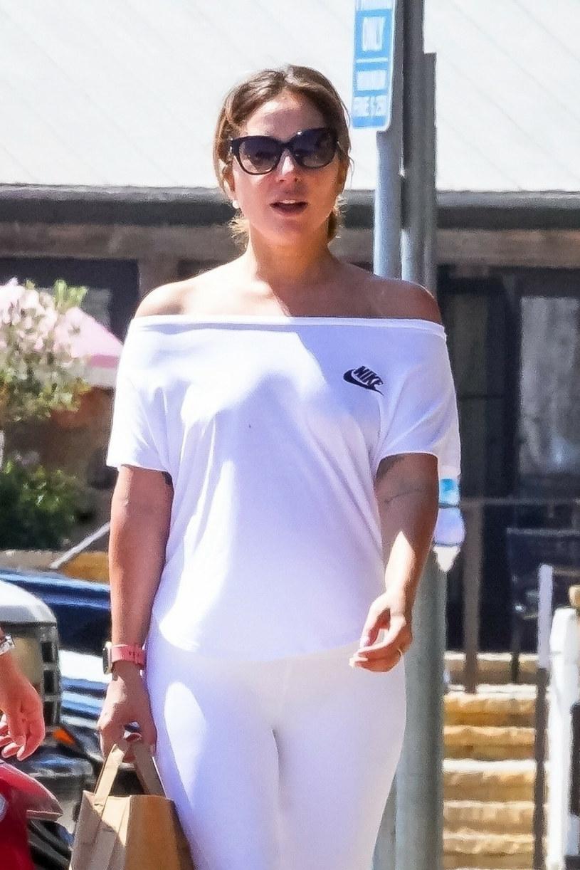 Lady Gaga w sportowej stylizacji /BACKGRID /East News
