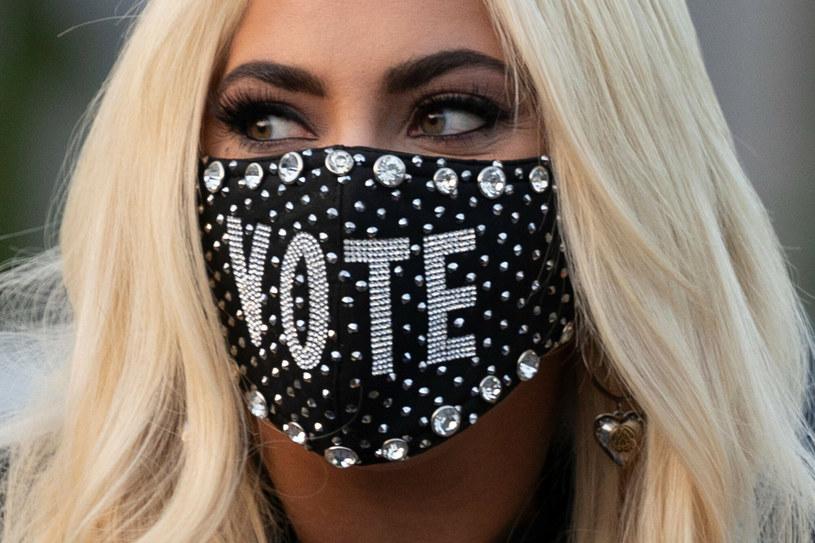 Lady Gaga wspiera Joe Bidena /JIM WATSON /East News