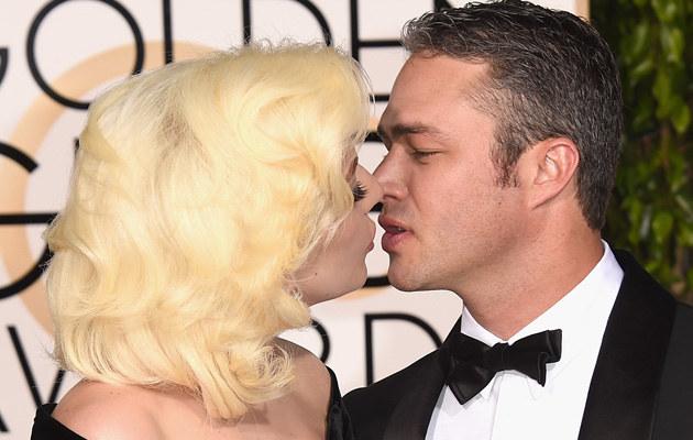 Lady Gaga z narzeczonym /Jason Merritt /Getty Images