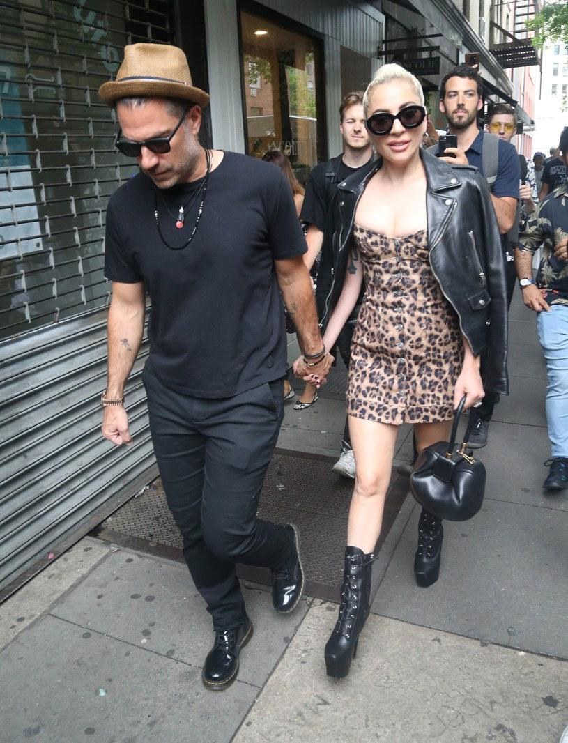 Lady Gaga z ukochanym /East News