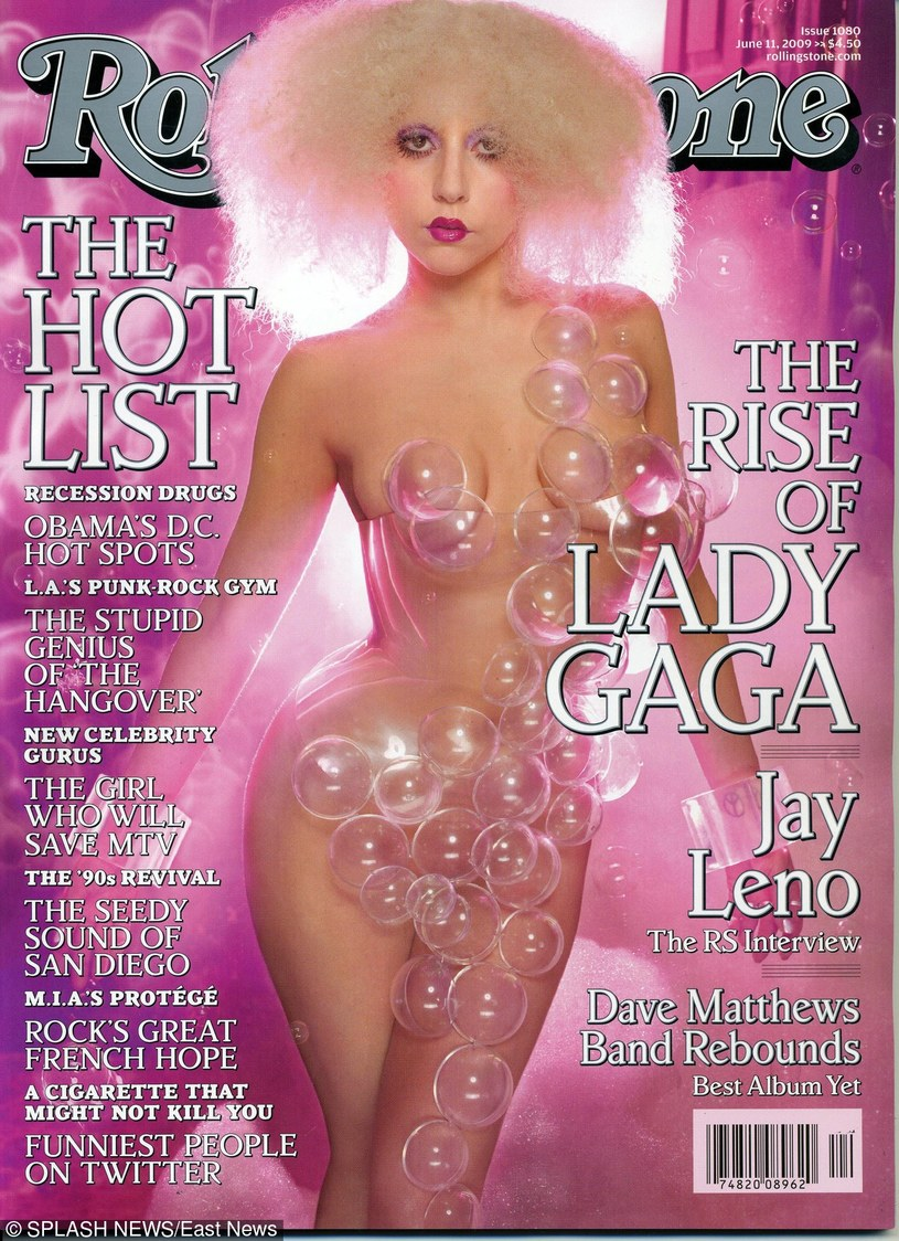 Lady Gaga /Rolling Stone/Splash News /East News