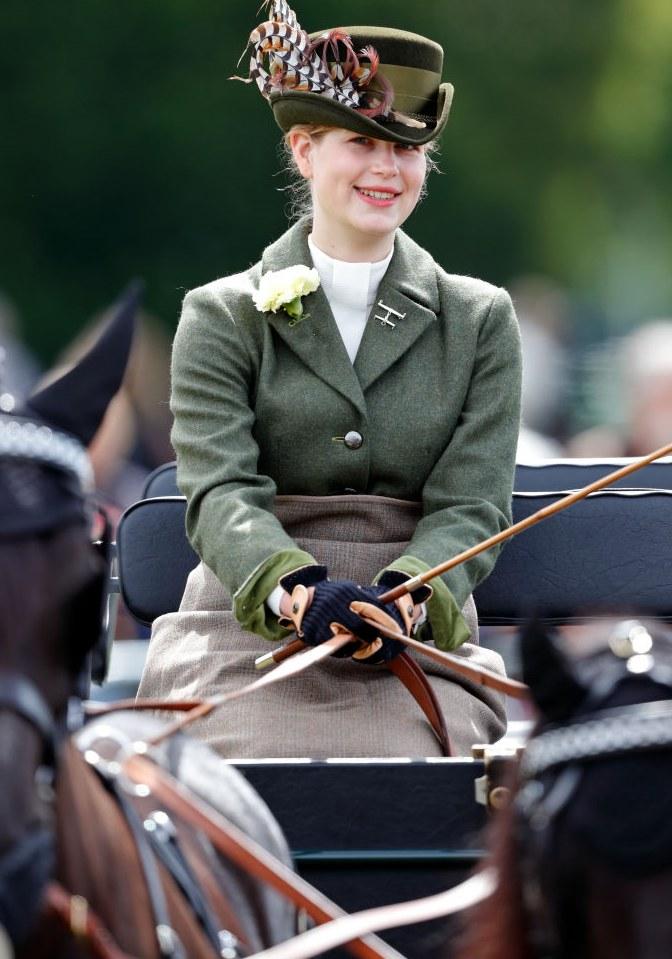 Lady Ludwika Windsor - ukochana wnuczka księcia Filipa /Max Mumby/Indigo /Getty Images