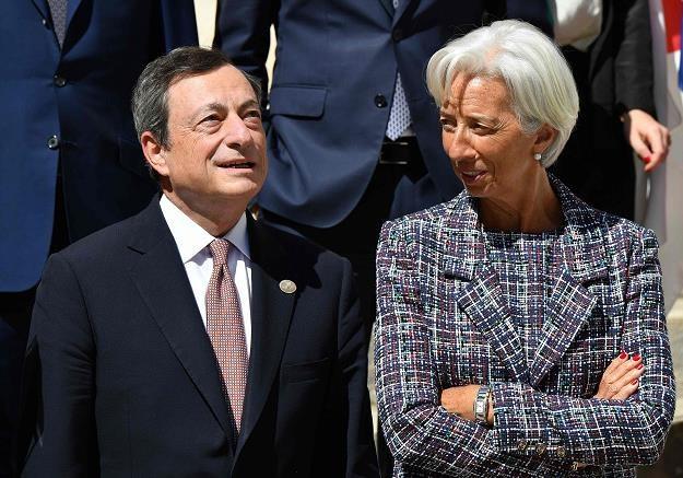 Lagarde deklaruje kontynuację polityki Draghiego /AFP
