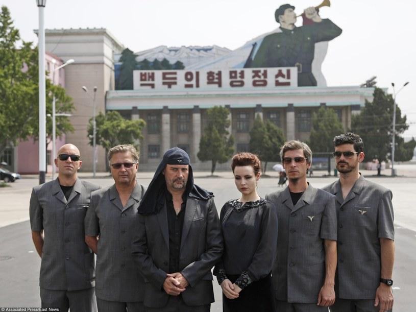 Laibach w Korei Północnej /AP Photo/Dita Alangkara /East News