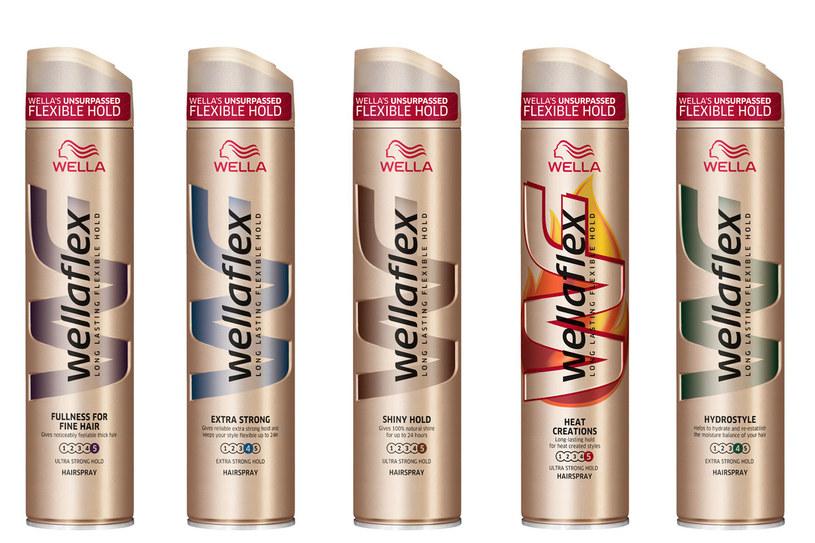 Lakiery Wellaflex z technologią Flex Active /materiały prasowe