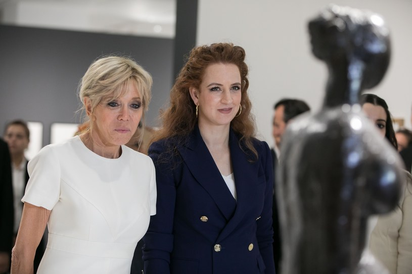 Lalla Salma i Brigitte Macron /East News