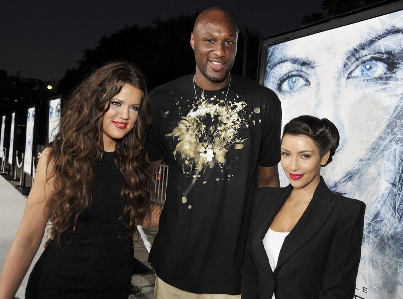 Lamar i Khloe tworzyli zgraną parę! /Kevin Winter /Getty Images