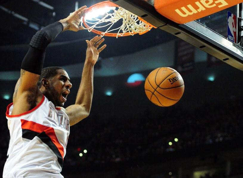 LaMarcus Aldridge z Portland Trail Blazers /AFP