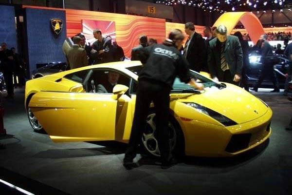 Lamborghini Gallardo (kliknij) /INTERIA.PL