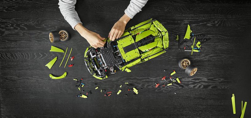Lamborghini i Lego - trudno o lepsze połączenie! /materiały prasowe