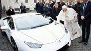 Lamborghini papieża sprzedane