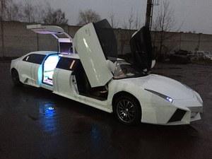 Lamborghini Reventon jako przedłużona limuzyna