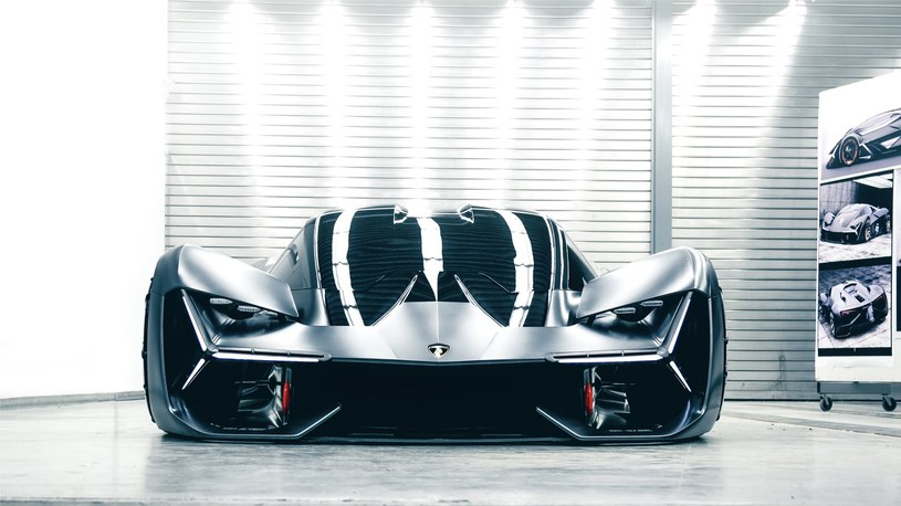 Lamborghini Terzo Millennio /INTERIA.PL/informacje prasowe