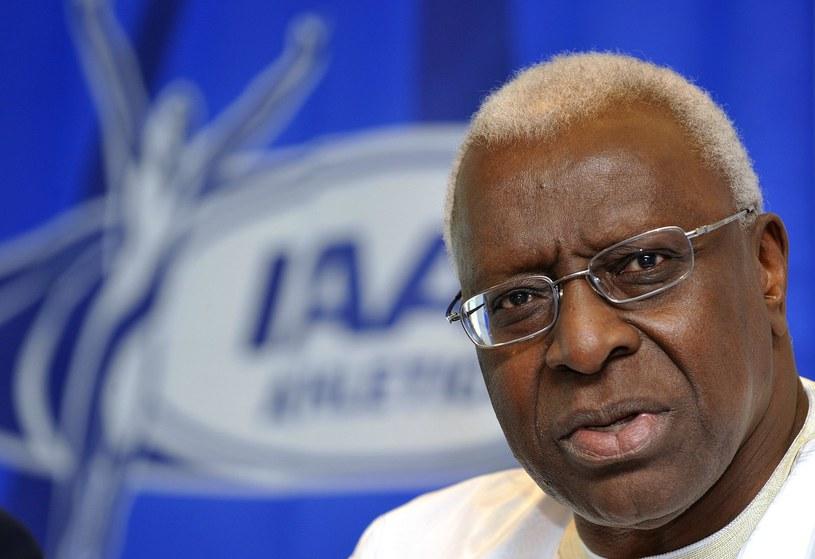 Lamine Diack, były szef światowej lekkiej atletyki /AFP