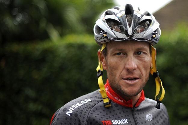 Lance Armstrong, były słynny amerykański kolarz /AFP