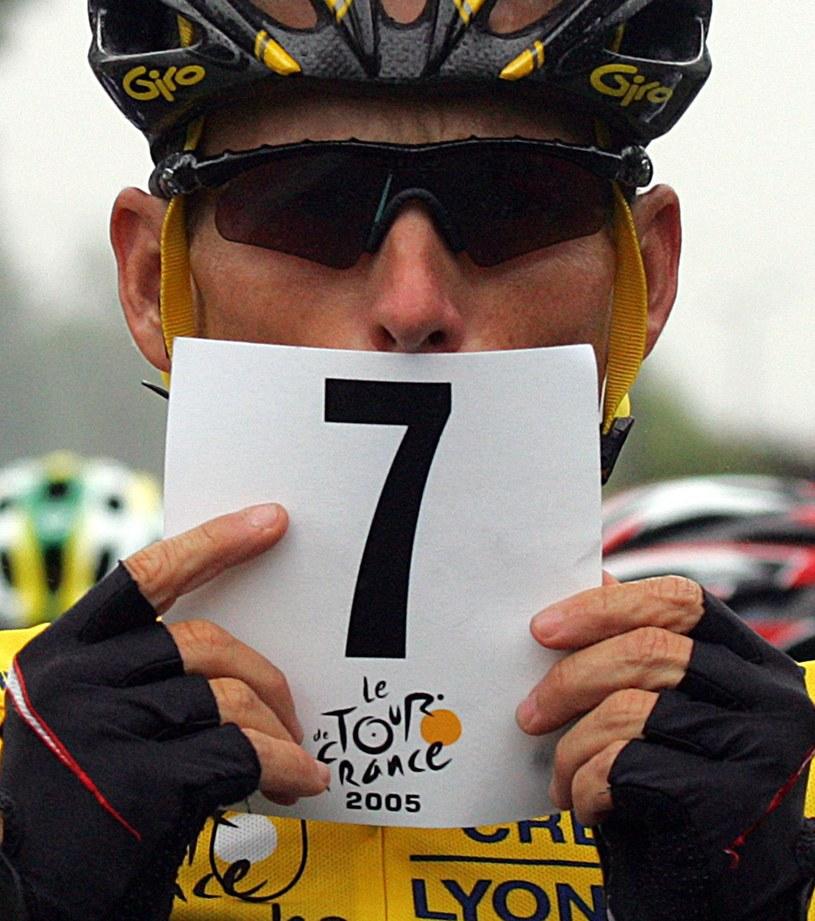 """Lance Armstrong siedem razy wygrał """"Wielką Pętle"""" /AFP"""