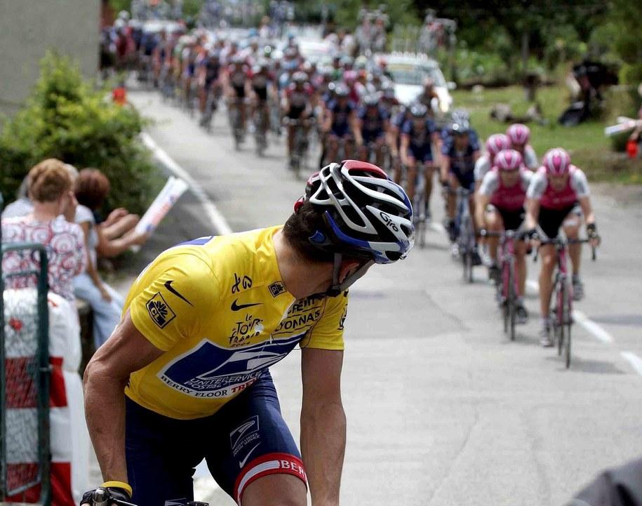 Lance Armstrong (zdj.archiwalne) / GERO BRELOER /PAP/EPA