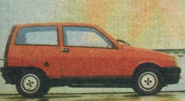 Lancia Ypsilon ma rozstaw osi 216 cm i długość 339 cm, waży zaś od 720 do 790 kg. /Motor