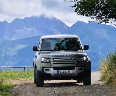 Land Rover Defender– w ciężki teren w garniturze