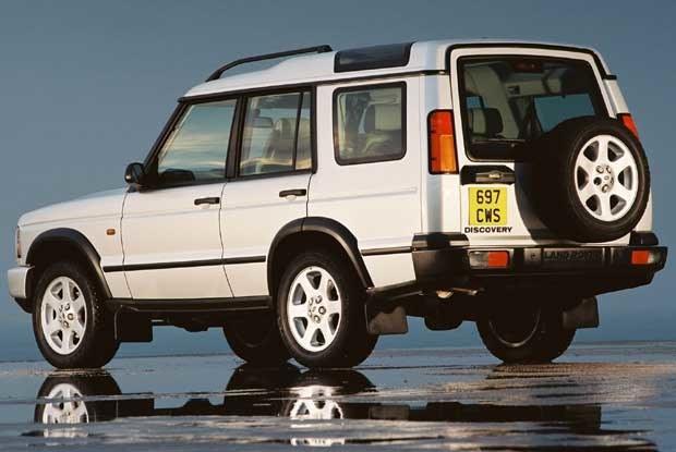 Land Rover Discovery 2003 (kliknij) /INTERIA.PL