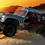 Land Rover EvoDakar w WOŚP