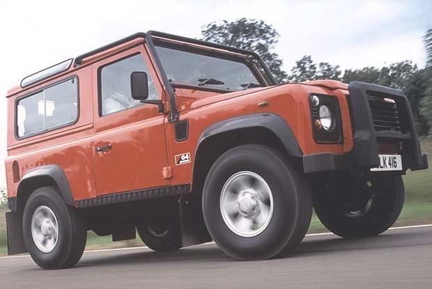 Land Rover G4 Edition Defender (kliknij) /INTERIA.PL