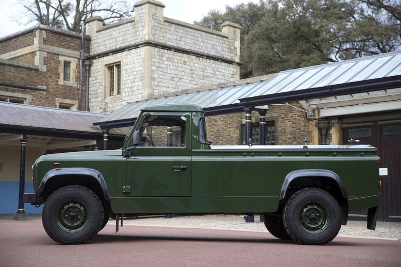 Land Rover przygotowany na pogrzeb księcia Filipa /WPA Pool / Pool /Getty Images
