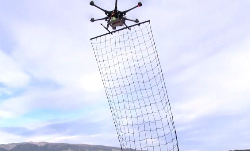 Łapacze dronów prawdopodobnie trafią do francuskiej policji /YouTube