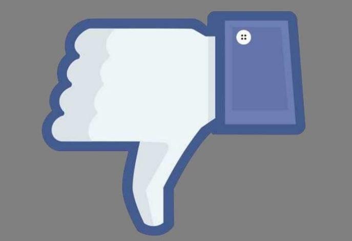 Łapka w dół jest długo wyczekiwaną funkcją Facebooka /INTERIA.PL